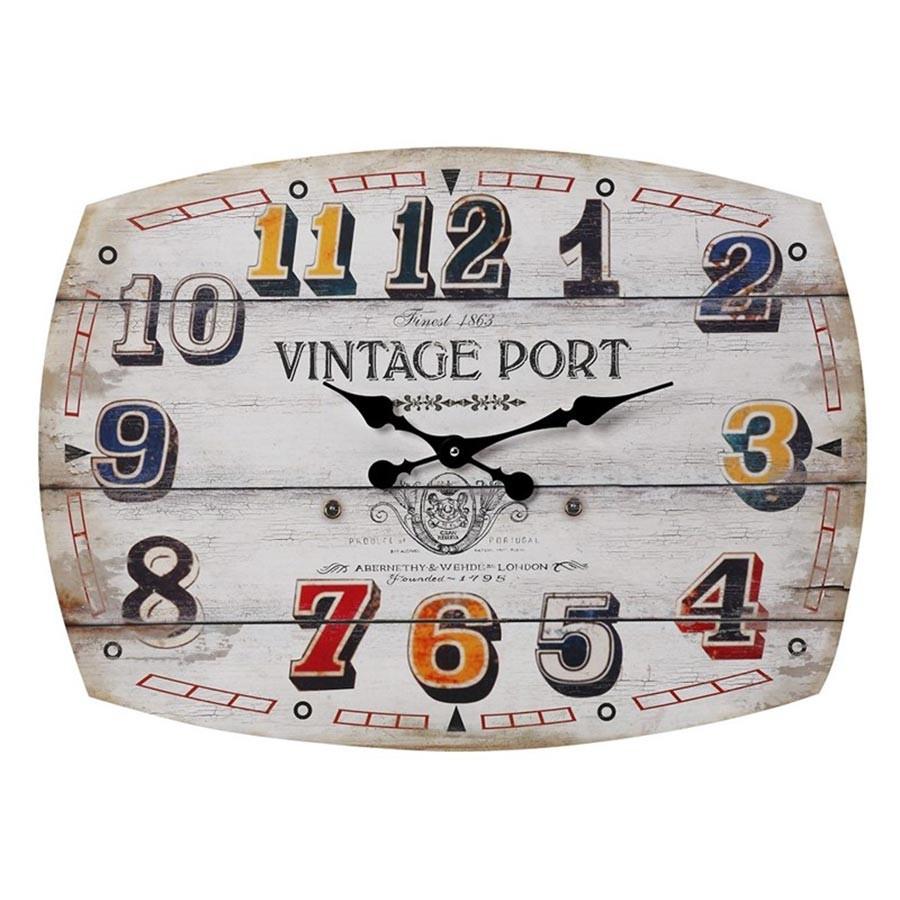 Ρολόι Τοίχου Espiel LOG245 home   διακόσμηση   ρολόγια