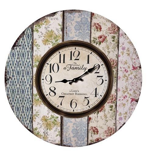 Ρολόι Τοίχου Espiel LOG330