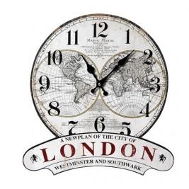 Ρολόι Τοίχου Espiel LOG343