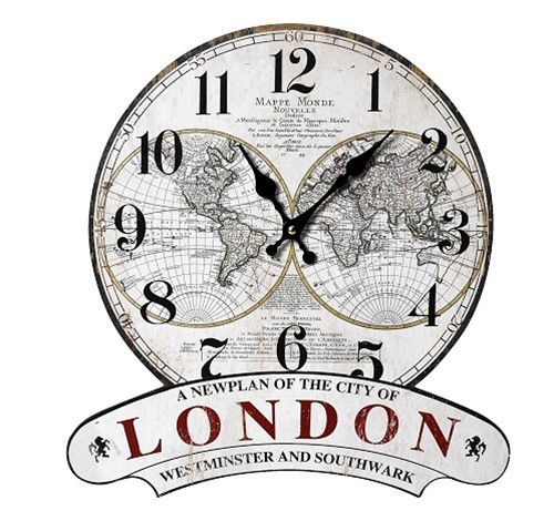 Ρολόι Τοίχου Espiel LOG343 home   διακόσμηση   ρολόγια