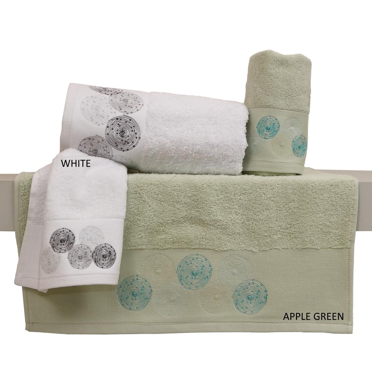 Πετσέτες Μπάνιου (Σετ 3τμχ) Anna Riska Des 32
