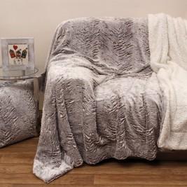 Κουβέρτα Καναπέ Με Γουνάκι Anna Riska 360 Beige