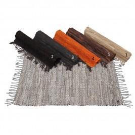 Βραδύκαυστο Χαλί (65x135) Viopros Leather Ideas