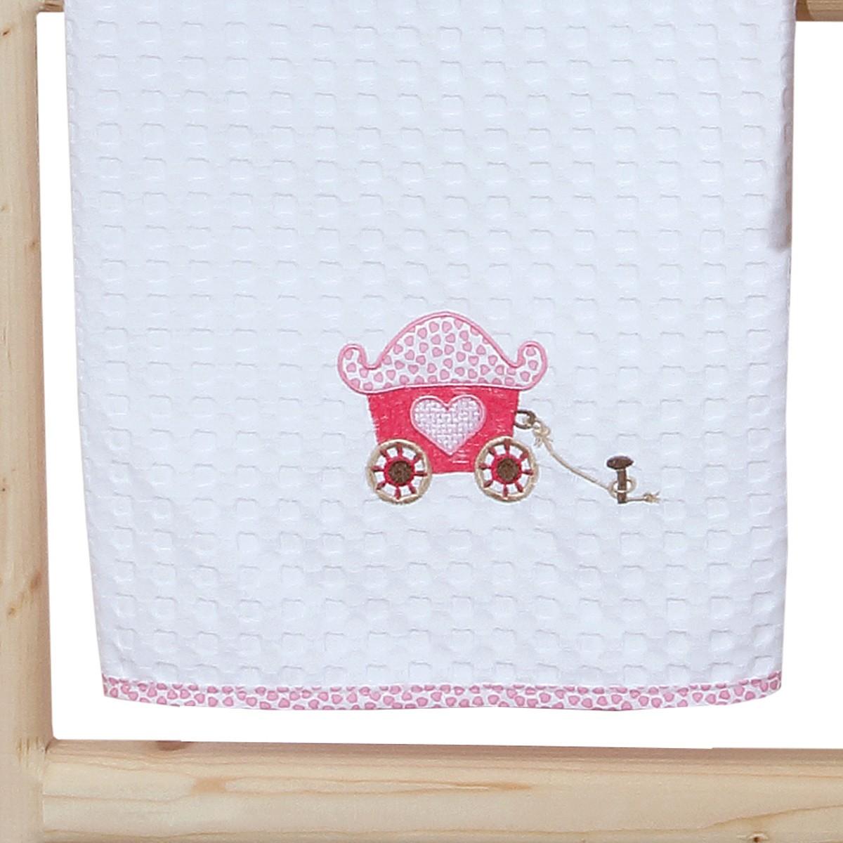 Κουβέρτα Πικέ Κούνιας Anna Riska Celine home   βρεφικά   κουβέρτες βρεφικές   κουβέρτες καλοκαιρινές