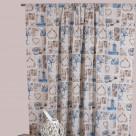 Κουρτίνα (280×270) Με Τρέσα Viopros Curtains Αστερίας