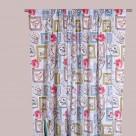 Κουρτίνα (280×270) Με Τρέσα Viopros Curtains Αμάρε