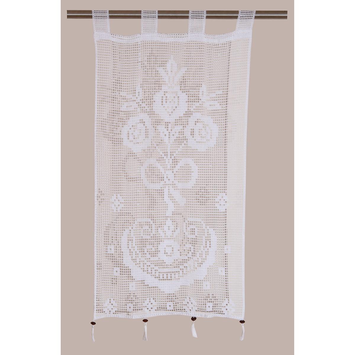 Κουρτίνα (50x100) Πλεκτή Viopros Curtain Ideas 3650