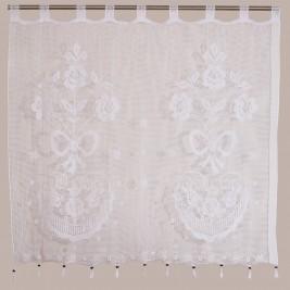 Κουρτίνα Πλεκτή (120x150) Με Θηλιές Viopros Curtain Ideas 3650