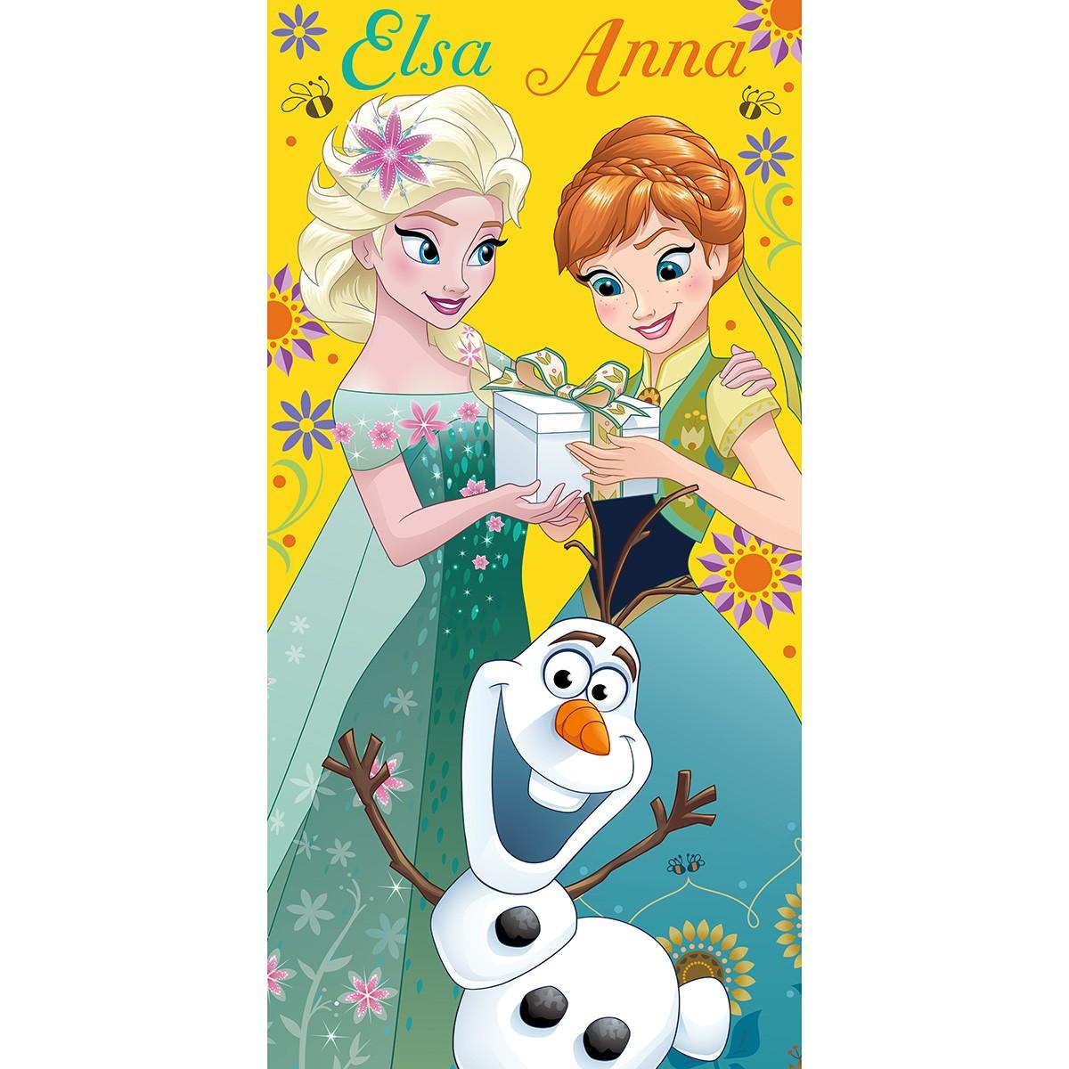 Παιδική Πετσέτα Viopros Frozen 12