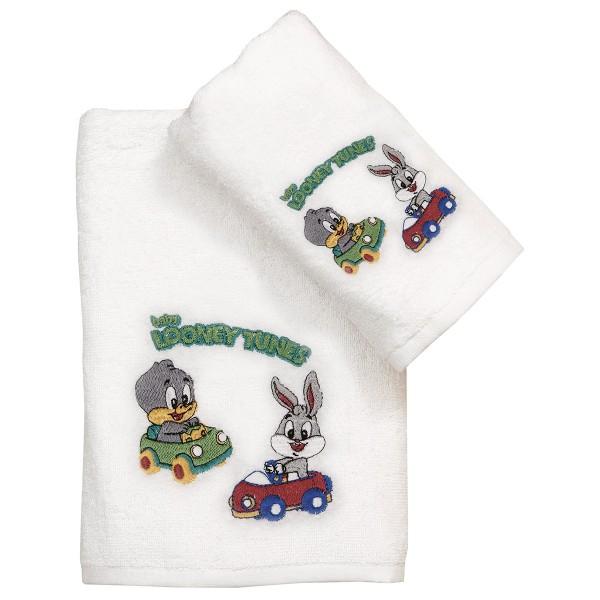 Παιδικές Πετσέτες (Σετ 2τμχ) Viopros Looney Tunes 20