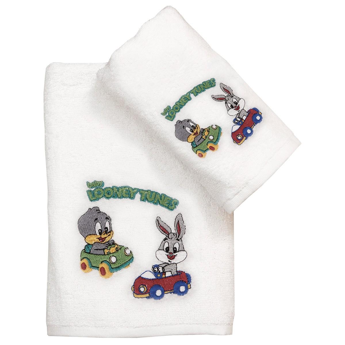 Παιδικές Πετσέτες (Σετ 2τμχ) Viopros Looney Tunes 20 home   παιδικά   πετσέτες παιδικές