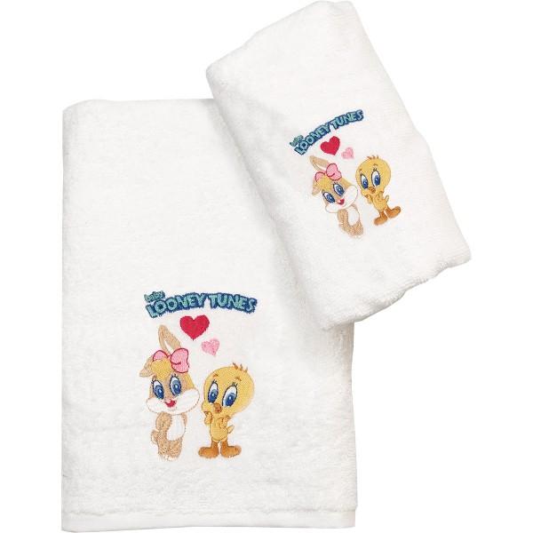 Παιδική Πετσέτα Προσώπου (50x80) Viopros Looney Tunes 22