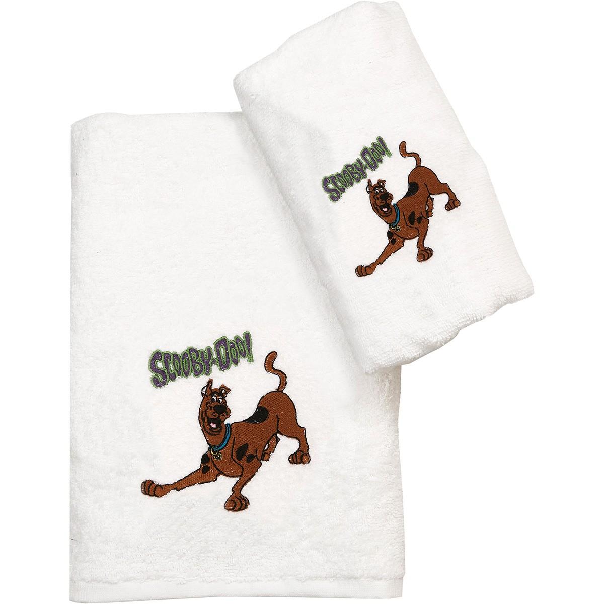 Πετσέτα Προσώπου (50×80) Viopros Scooby Doo 20