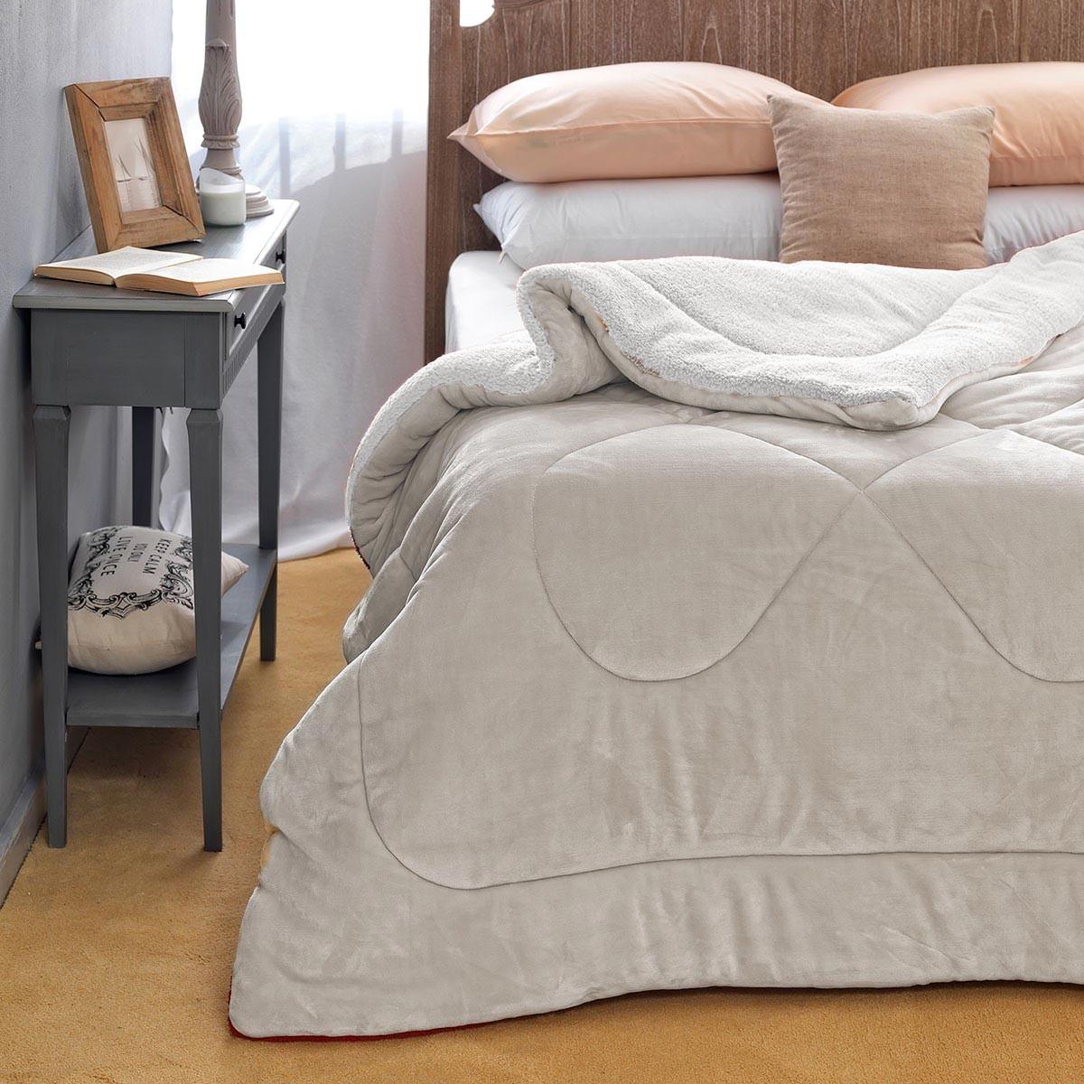 Κουβερτοπάπλωμα Υπέρδιπλο Palamaiki Sloop Grey