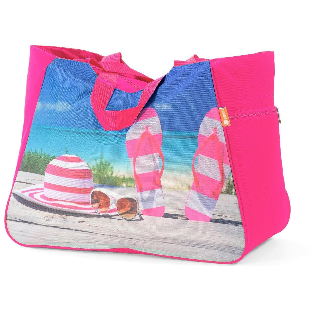 Τσάντα Παραλίας Benzi 5002 Pink home   θαλάσσης   τσάντες παραλίας