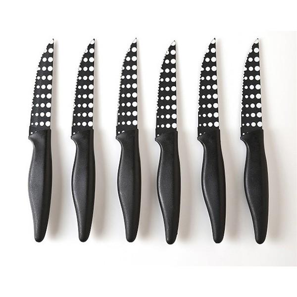 Μαχαίρια Κουζίνας (Σετ 6τμχ) Espiel EON305