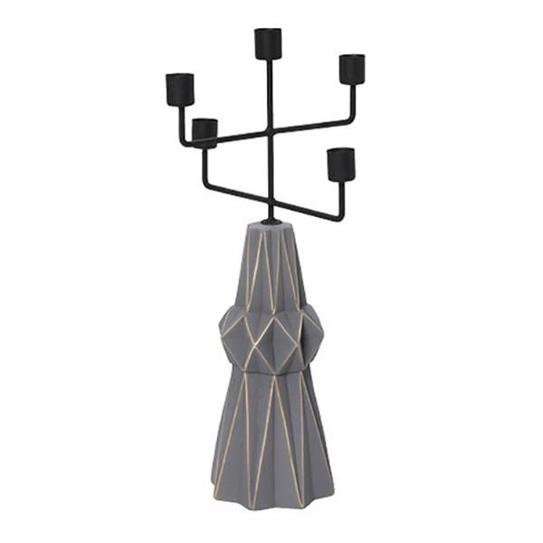 Κηροπήγιο 5 Θέσεων Espiel GIO110K2 home   διακόσμηση   κηροπήγια   φαναράκια