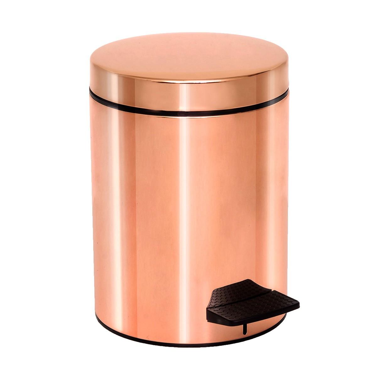 Κάδος Απορριμάτων (20×28) PamCo 5Lit 96 Rose Gold