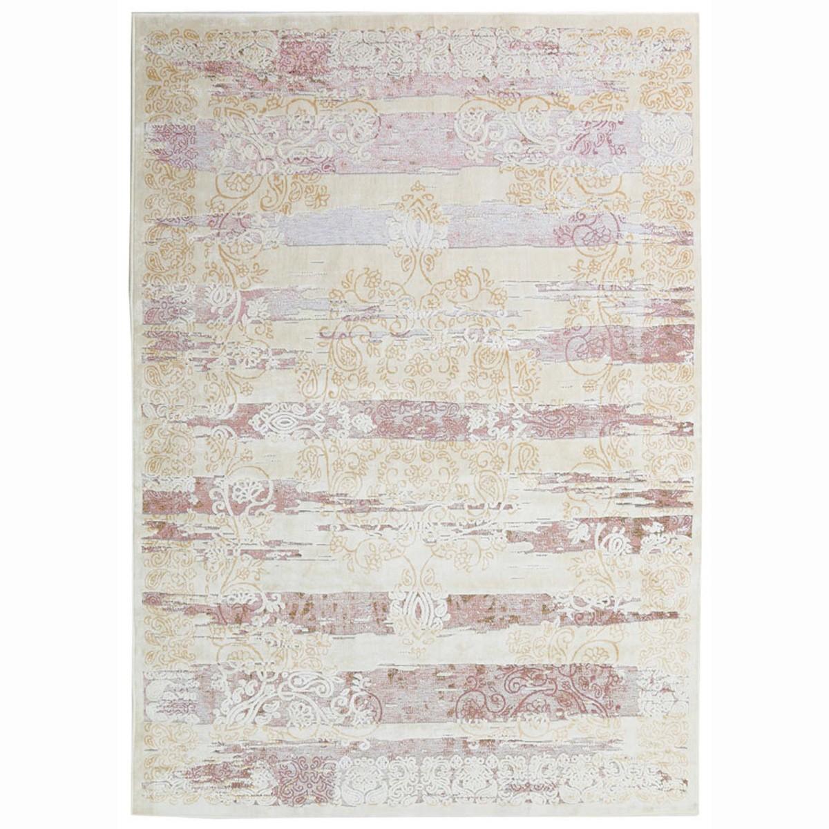 Καλοκαιρινό Χαλί (160x230) Royal Carpets Broderi G029 Ivory