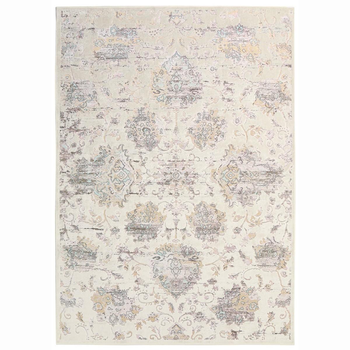 Καλοκαιρινό Χαλί (160x230) Royal Carpets Broderi G068B Ivory