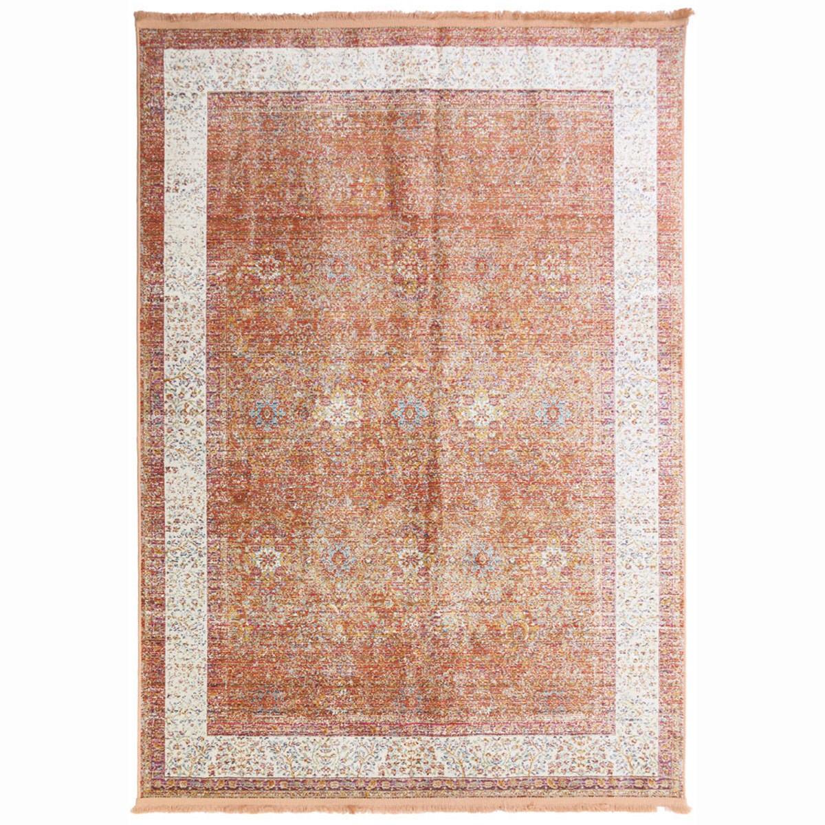 Καλοκαιρινό Χαλί (160x230) Royal Carpets Sevilla 5810 Peach S1