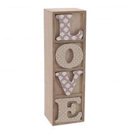 Κουτί/Συρτάρι Αποθήκευσης InArt Love 3-70-482-0008