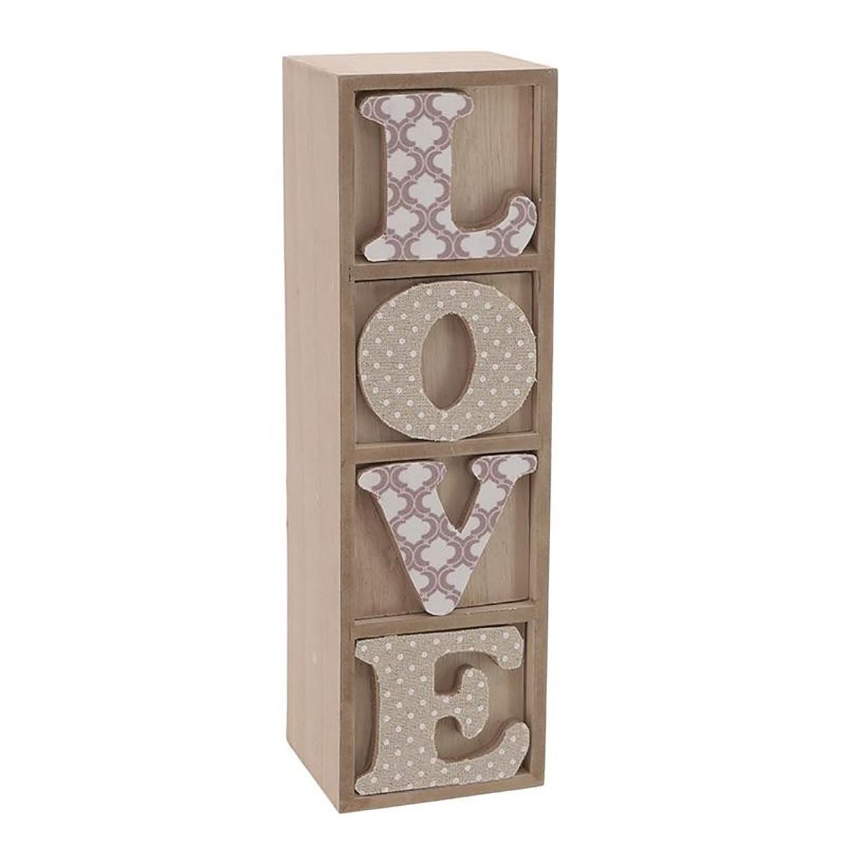 Κουτί/Συρτάρι Αποθήκευσης InArt Love 3-70-482-0008 72783
