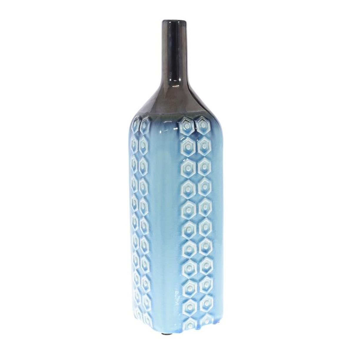 Διακοσμητικό Βάζο InArt Blue Lagoon 3-70-507-0225
