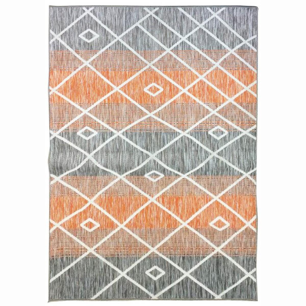 Καλοκαιρινό Χαλί (160x230) Royal Carpets Porto 776A Orange