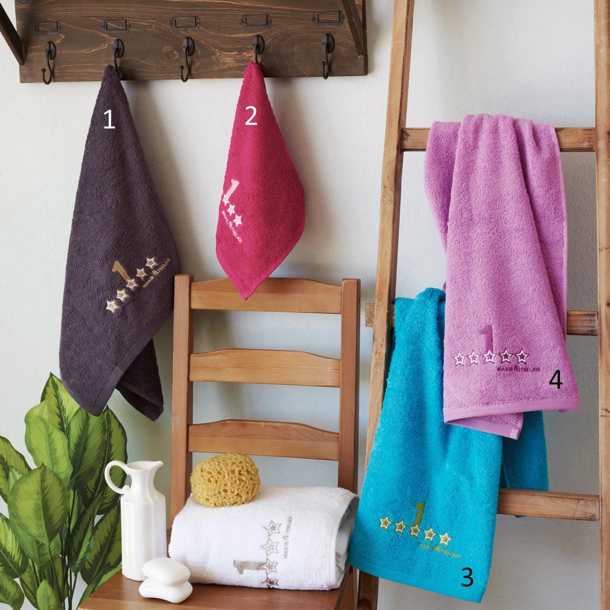 Πετσέτες Μπάνιου (Σετ 3τμχ) Makis Tselios One