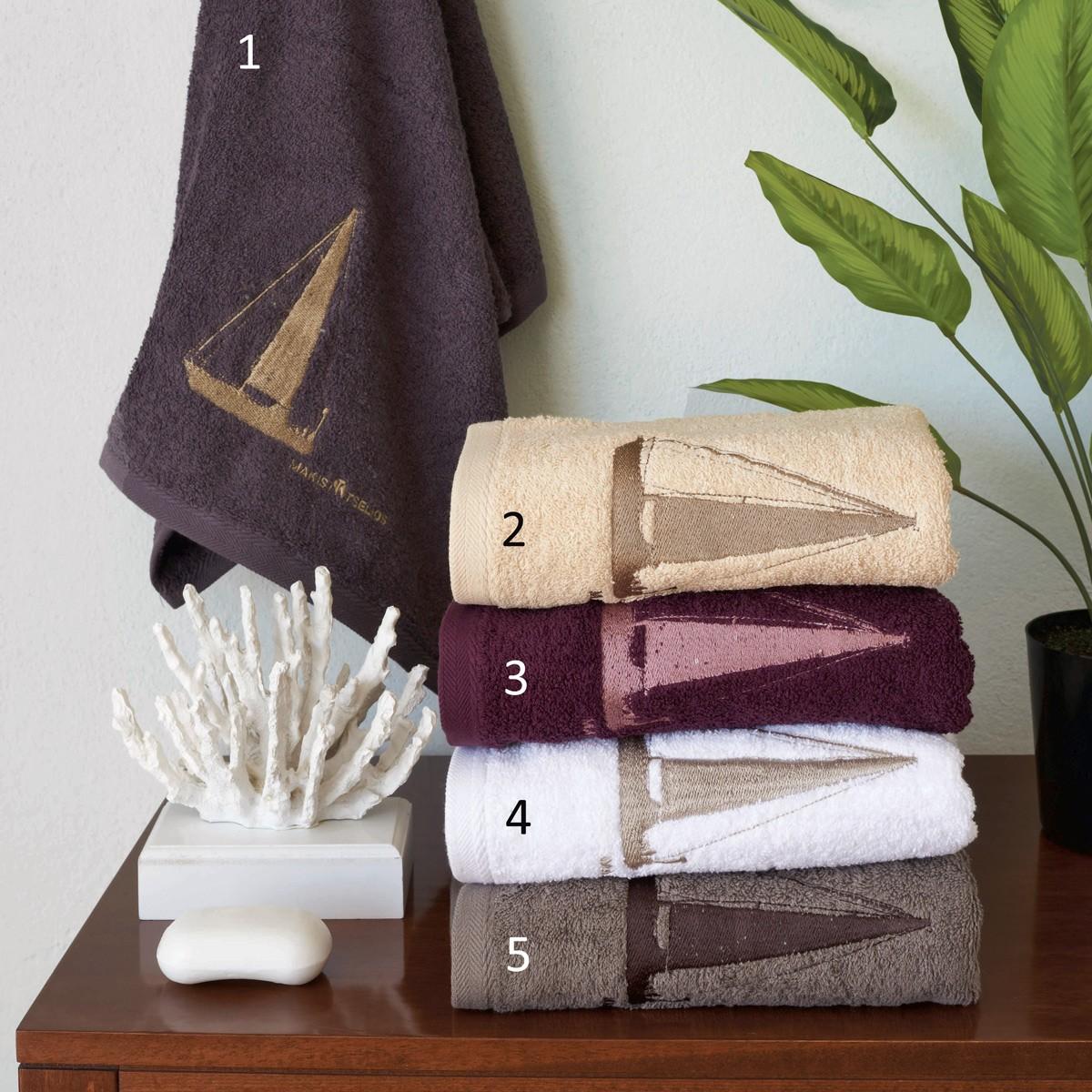 Πετσέτες Μπάνιου (Σετ 3τμχ) Makis Tselios Sail
