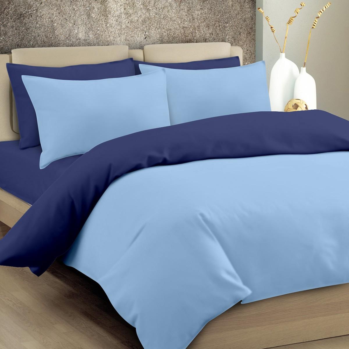 Παπλωματοθήκη Μονή Maison Blanche 11003 Γαλάζιο/Μπλε