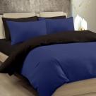 Παπλωματοθήκη Μονή Maison Blanche 11003 Μπλε/Μαύρο