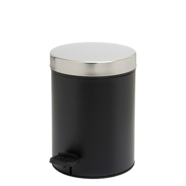 Κάδος Απορριμμάτων (18x25) PamCo 3Lit 126 Black Matte