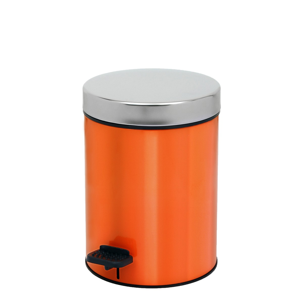 Κάδος Απορριμάτων (18x25) PamCo 3Lit 126 Orange Matte