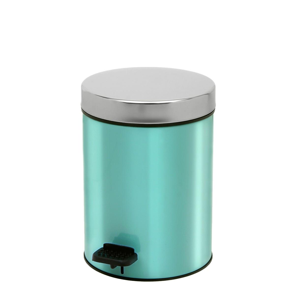 Κάδος Απορριμάτων (18×25) PamCo 3Lit 126 Turquoise 73157
