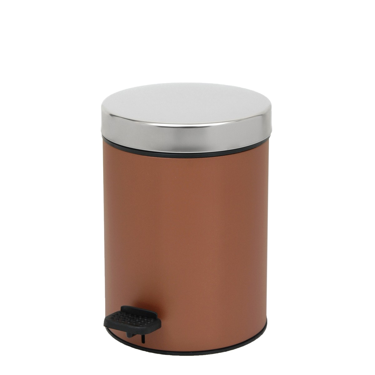 Κάδος Απορριμάτων (18x25) PamCo 3Lit 126 Brown Matte