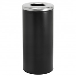 Καλάθι Απλύτων 25x57 PamCo 30-2557-403-001 Black Matte/Inox