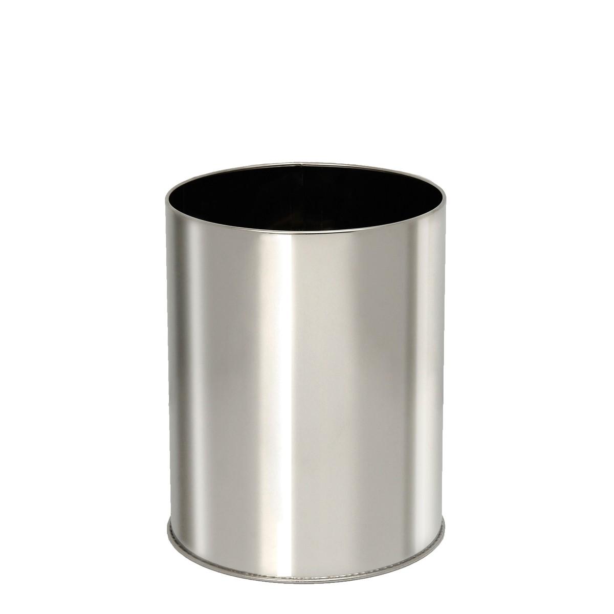 Καλάθι Απορριμάτων (23×27) PamCo 10Lit 2327 Inox 73175