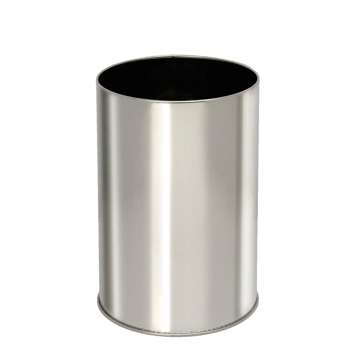 Καλάθι Απορριμάτων (23×33) PamCo 10Lit 2333 Inox Matte 73176
