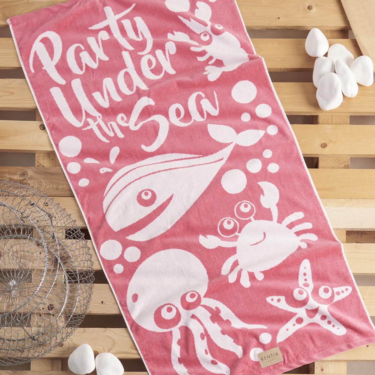 Παιδική Πετσέτα Θαλάσσης Kentia Party 14