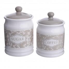 Δοχείο Ζάχαρης + Καφέ (Σετ) InArt 3-60-379-0026