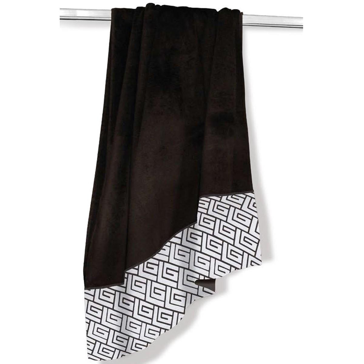 Πετσέτα Θαλάσσης Guy Laroche Jacquard Ground Black