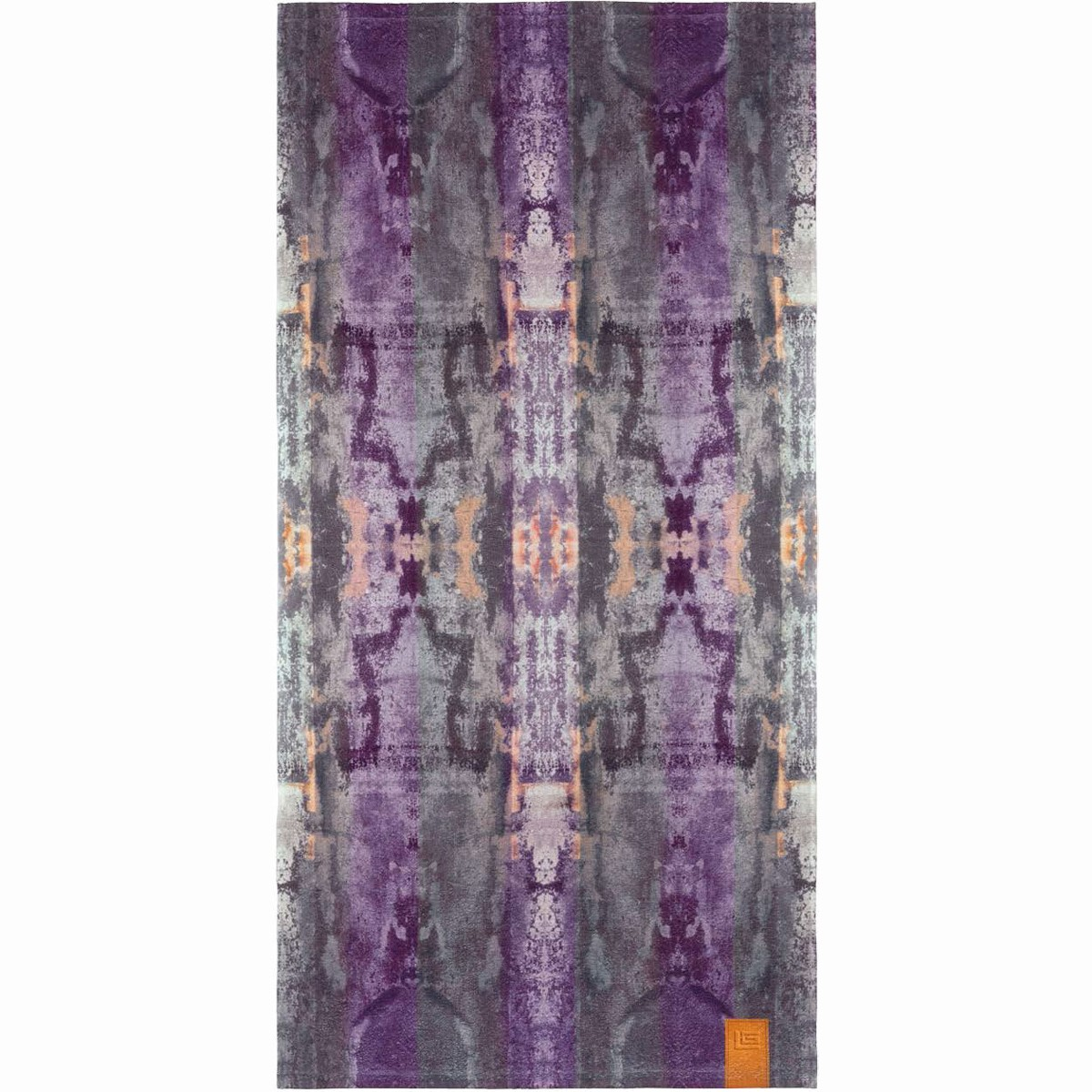 Πετσέτα Θαλάσσης Guy Laroche Velour Printed 4 Lilac