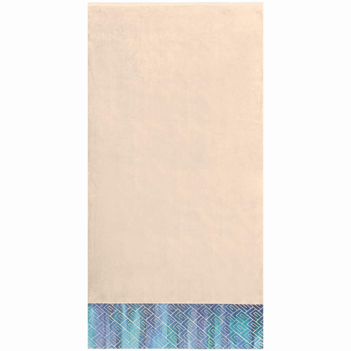 Πετσέτα Θαλάσσης Guy Laroche Jacquard Printed 1 Sand/Aqua