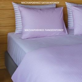 Ζεύγος Μαξιλαροθήκες Melinen 12532 Lilac