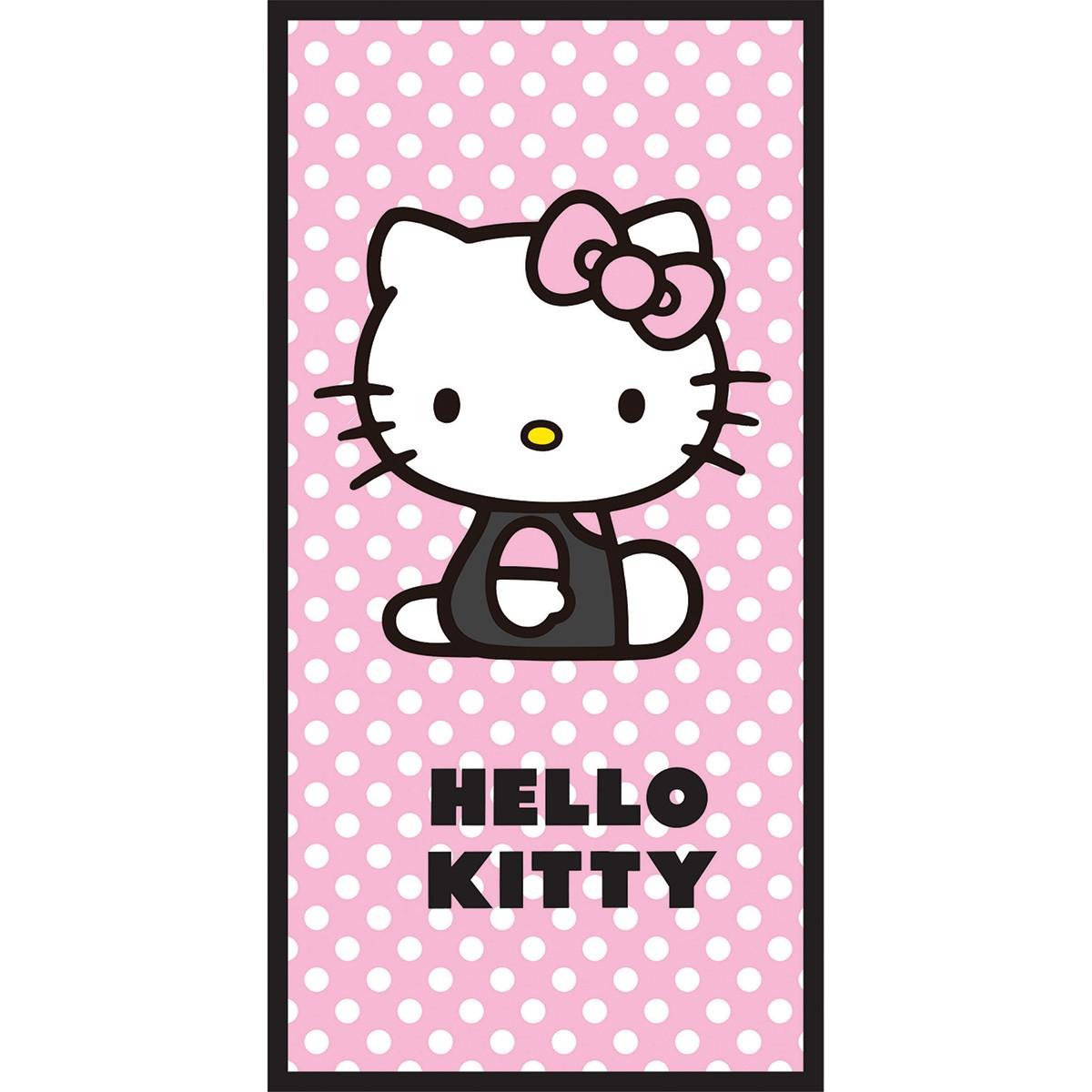 Παιδική Πετσέτα Θαλάσσης Dim Collection Hello Kitty 04 home   θαλάσσης   πετσέτες θαλάσσης παιδικές