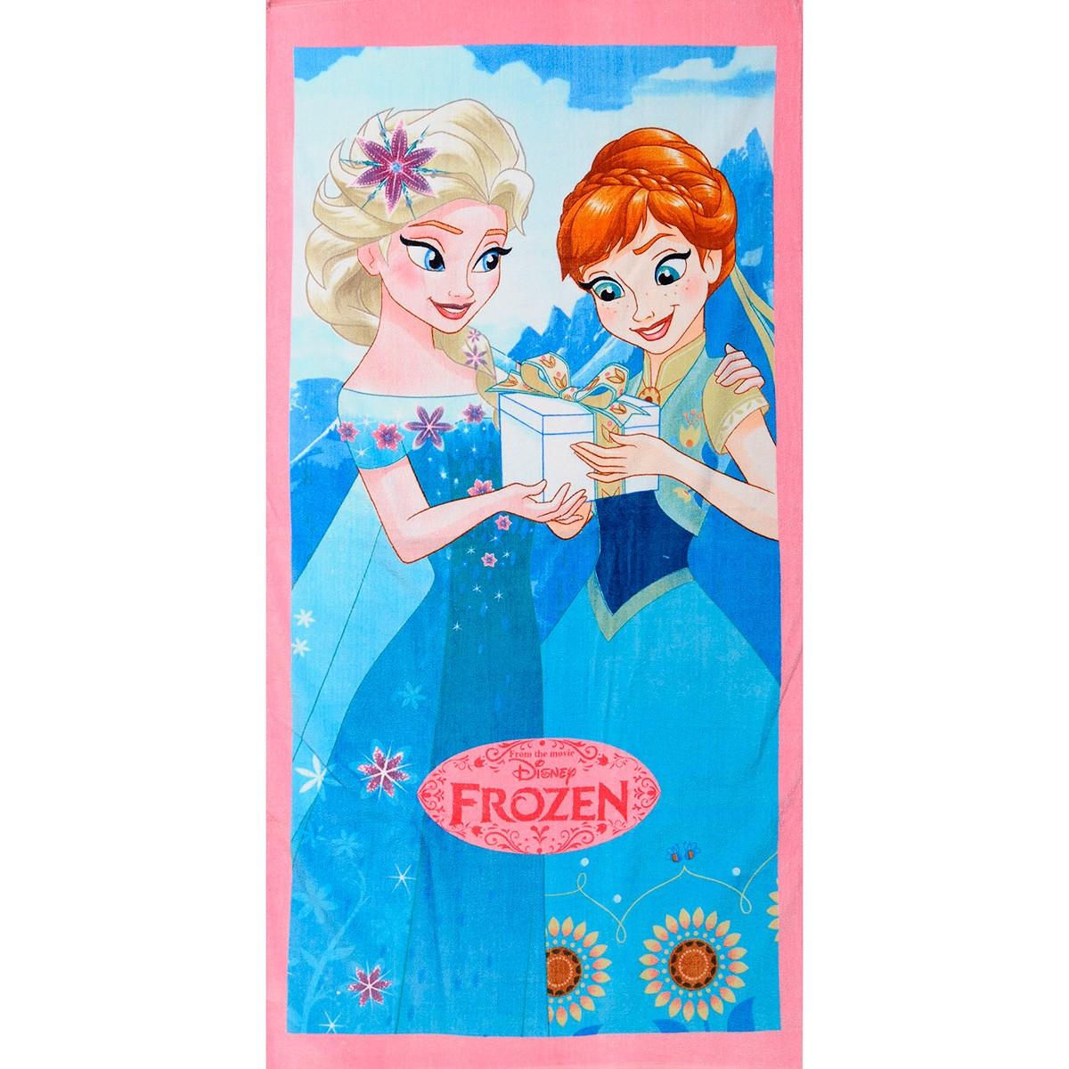 Παιδική Πετσέτα Θαλάσσης Dim Collection Frozen 01-5