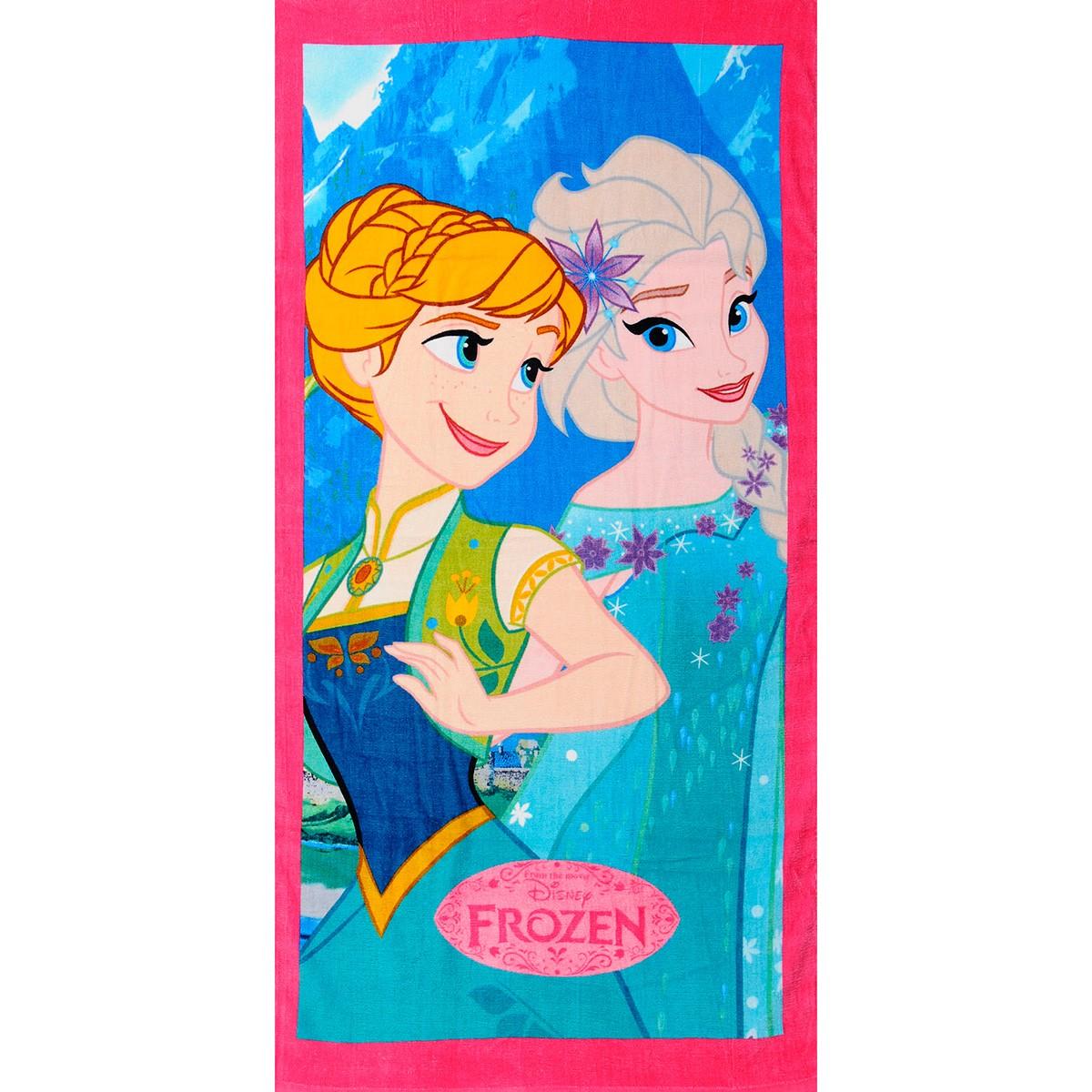 Παιδική Πετσέτα Θαλάσσης Dim Collection Frozen 01-6