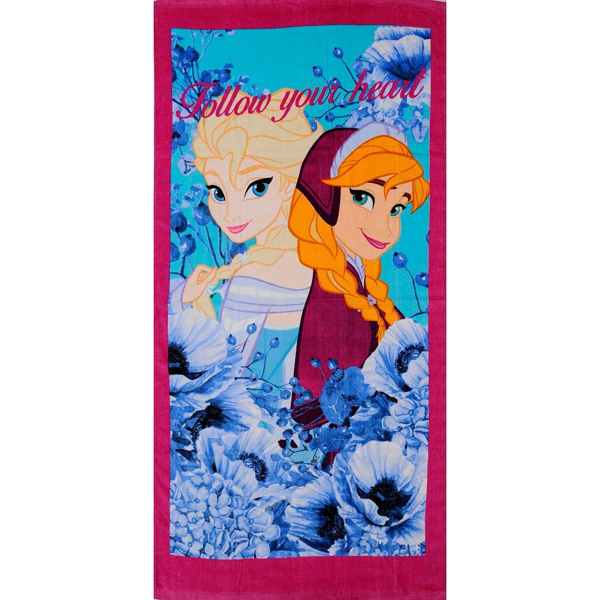 Παιδική Πετσέτα Θαλάσσης Dim Collection Frozen 02-2
